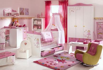 Детская комната для девочки интерьер