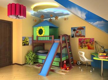 Интерьер детской комнаты мебель и игрушки