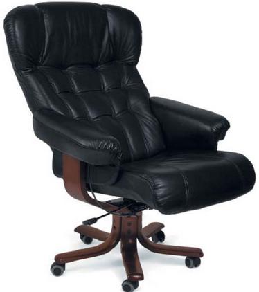 Кресло руководителя в домашнем кабинете и офисе