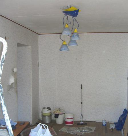 Поэтапный ремонт в квартире