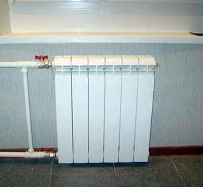 Замена радиаторов отопления в доме