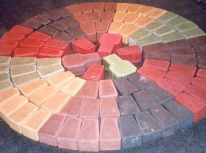 Состав бетона для тротуарной плитки во дворе
