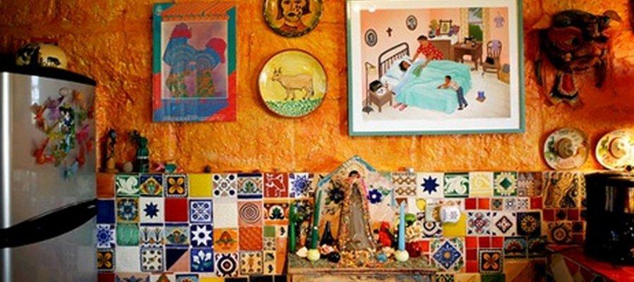 мексиканский дизайн интерьера