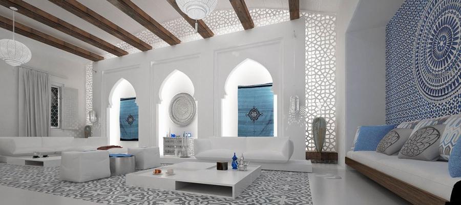 марокканский стиль в дизайне