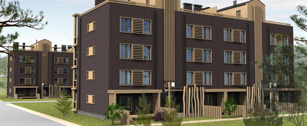 малоэтажные жилые комплексы