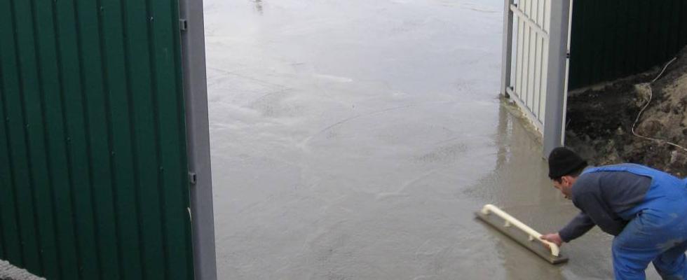 уплотнить бетон под фундамент