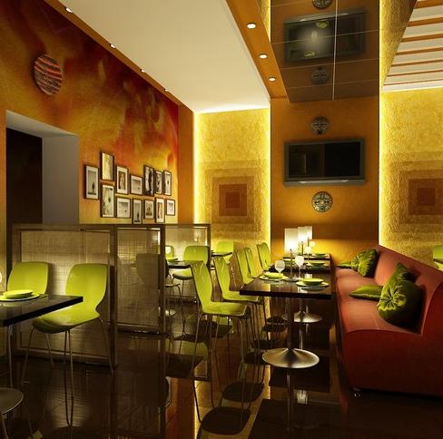 дизайн кафе в традиционном стиле